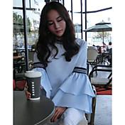 Signo de primavera de 2017 y el verano de nuevas damas femeninas coreanas pequeñas damas de viento fragante moda salvaje torta manga de