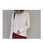 ラグランスリーブ緩い基本モデル野生の綿の長袖Tシャツシャツ
