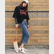 2017年春モデルは、韓国の看板バリ韓国緩い腰ワイドレッグパンツは、9点の秋のハーレム