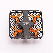 ドローン RC 4CH 6軸 2.4G - ラジコン・クアッドコプター LED照明 ワンキーリターン フェイルセーフ ヘッドレスモード 360°フリップフライト 電池残量不足通知 ラジコン・クアッドコプター リモコン USBケーブル 取扱説明書