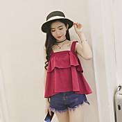 Signo de verano nueva versión coreana de la pequeña camisola strapless fresco femenino afluencia de estudiantes
