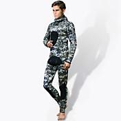 HISEA® Hombres Pantalones de neopreno Mantiene abrigado A prueba de radiaciones Traje de buceo Medias/Mallas Largas Trajes de buceo-Pesca