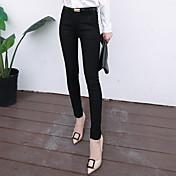 Signo 2016 las mujeres de la manera del resorte adelgazan los pantalones largos de los pantalones largos de los pantalones