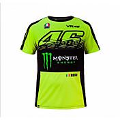 MotoGP t - shirt jahanje motocikl vr46 vitez locy pamuk kratka - rukava utrke odijelo t - košulja