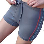 HISEA® Mujer Pantalones cortos de neopreno Impermeable Transpirable Mantiene abrigado Listo para vestir Compresión Protector LYCRA®Traje