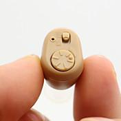 k-86 de mini ajustable del tono del volumen sordos audífonos amplificador en-oído mejor invisibles de mejora de sonido