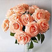 5 Podružnica Svila Roses Cvjeće za stol Umjetna Cvijeće