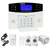 Danmini lcd wirless gsm / pstn casa casa oficina de seguridad ladrón intruso sistema de alarma