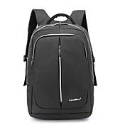 15,6 tommer bærbar vandtæt nylon klud med usb opladning port notesbog taske rygsæk til macbook / dell / hp / lenovo / sony / acer /