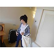 Mujer Sencillo Chic de Calle Tiro Alto Micro-elástica Vaqueros Pantalones,Pitillo Un Color