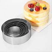 6個 ベーキングモールド ケーキのための ステンレス 高品質 焦げ付き防止 環境に優しい ホリデー