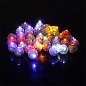 50 kom / set okrugle LED svjetiljke svjetiljke s balonima svjetiljke za lantern božićno vjenčanje party ukras