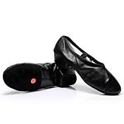 Zapatos de baile-Personalizables-Mujer-Zapatillas de Baile-Tacón Cuadrado-Cuero-