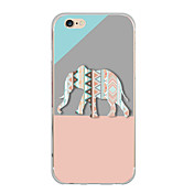 Til case cover ultra tynde mønster bagside cover elefant soft tpu til iphone 7 plus 7 6s plus 6 plus se 5s 5