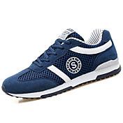 Sportssko-PU-Komfort-Herrer--Udendørs-Flad hæl