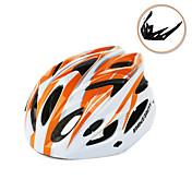 男性用 男女兼用 バイク ヘルメット 18 通気孔 サイクリング サイクリング マウンテンサイクリング M:55-58CM L:58-61CM EPS 白 + 赤 白 + スカイブルー ブルー/黒(白枠) 赤/黒(赤枠) レッド/ホワイト(白枠)