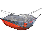 Hamaca para camping con red antimosquitos A Prueba de Humedad Bien Ventilado Impermeable Portátil Secado rápido A prueba de insectos