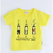 幾何学模様 コットン Tシャツ 夏 半袖