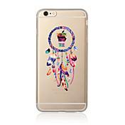 ケースfor iphone 7 7 plus夢キャッチャーパターンtpuソフトバックカバー漫画iphone 6 plus 6s plus iphone 5 se 5s 5c 4s