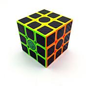 Cubo de rubik Cubo velocidad suave Etiqueta engomada del fregado Cubos Mágicos Plásticos