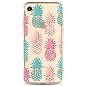 Para iPhone X iPhone 8 Carcasa Funda Transparente Diseños Cubierta Trasera Funda Fruta Suave TPU para Apple iPhone X iPhone 8 Plus iPhone