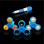 1ks ruční spinner tvůrčí prsty gyroskop pero fidget spinner stres ruční nůžky zaměření keeptoy a adhd edc proti stresu hračka ramdon barva