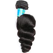 Cabello humano Cabello Vietnamita Tejidos Humanos Cabello Suelto Extensiones de cabello 1 Pieza Negro