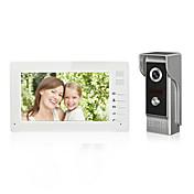 Drátový Videotelefon multifamily 7 Hands-free 1024*600 Dveřní videotelefon jedna ku jedné
