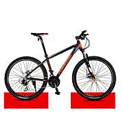 Bicicleta de Montaña Ciclismo 30 Velocidad 27 pulgadas Microshift 24 Doble Disco de Freno Horquilla de suspenciónCuadro de Aleación de