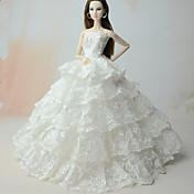ワンピース ドレス ために バービー人形 ために 女の子の 人形玩具