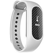 B15S スマートブレスレット iOS Android 耐水 消費カロリー 歩数計 スポーツ 心拍計 タッチスクリーン APPコントロール タイマー 血圧測定 加速度計 心拍計 フィンガーセンサー