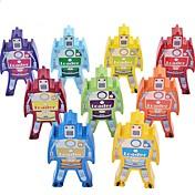 ちびっ子変装お遊び ディスプレイモデル ブロックおもちゃ ウッド