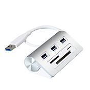 3ポート USBハブ USB 3.0 カードリーダー付き(S) データホールド 入力保護 オーバーレンジ保護 データハブ