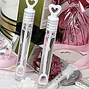 6pcs amor en la burbuja de agua in vitro burbuja barra de botellas vacías casan la decoración de la Navidad burbujas de la boda