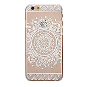 Para Funda iPhone 5 Transparente / Diseños Funda Cubierta Trasera Funda Mandala Suave TPU Apple iPhone SE/5s/5