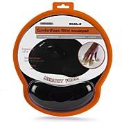 El protector del ratón del laiecola del yike ergofits un cojín de ratón estupendo cómodo del protector del algodón de la memoria oversize