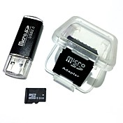 Paměťová karta microsdhc tf s kapacitou 8 GB s čtečkou karet USB a adaptérem sdhc sd