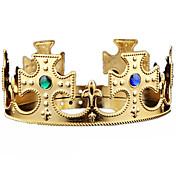 ハロウィーンのクリスマスの誕生日王冠のマウント宝石の宝石の頭のギアのコスプレカーニバルの仮装パーティーの衣装