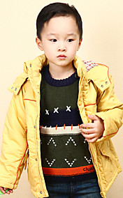 Chunyazi Fashion Hoodie Padded Coat (Gelb)