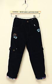 Chunyazi Fashion Casual Velvet Long Pants (Marine-Blau)