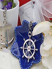 """""""Cíl svatební"""" láska voyage klíčenka (sada dvou) v sáčku sametové dárkové"""