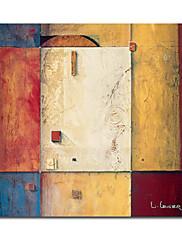 ručně malované abstraktní olej s rozprostřeným rámem