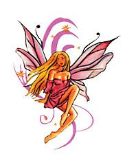 5 ks anděl vodotěsný dočasné tetování (6 cm * 6 cm)