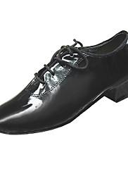 Non Přizpůsobitelné - Dětské - Taneční boty - Latina / Taneční sál - Lakovaná kůže / Kůže Černá