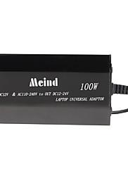 100w auto a domácí napájecí adaptér s nabíjecím adaptéry pro notebook