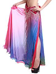 dancewear viskóza výkon bříško sukně pro dámy více barev