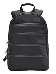 Přenosný 14-palcový notebook polstrovaný batoh pro MacBook Air profík a iPad a tablet PC (black)