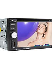 6,2 palcový dotykový displej digitální 2DIN auto DVD přehrávač s TV, RDS