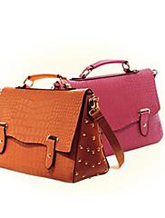 Stylish Patent Leather Shoulder/Crossbody Bag(35cm*14cm*22cm)