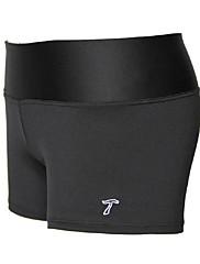krátké kalhoty jóga sportovní a execise černá bavlna